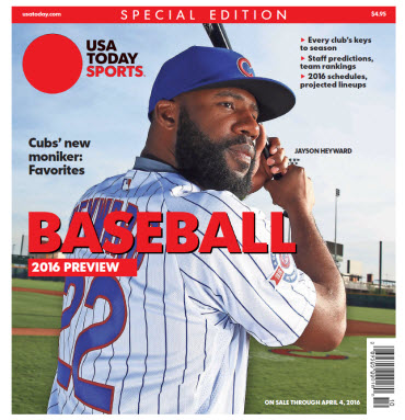 Baseball 2016 Preview Special Edition - Cubs Cover