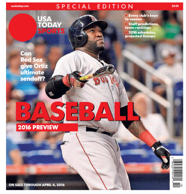 Baseball 2016 Preview Special Edition - Red Sox Cover