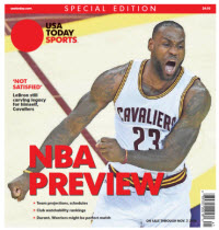 NBA Preview 2016 - Special Edition - Lebron James Cover