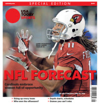 USA TODAY Sports Special Edition - NFL Forecast  2016 - Larry Fitzgerald Cover