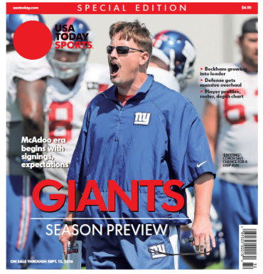 2016 NFL Preview Special Edition - Giants Preview