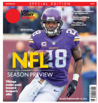 2016 NFL Preview Special Edition - Vikings Cover
