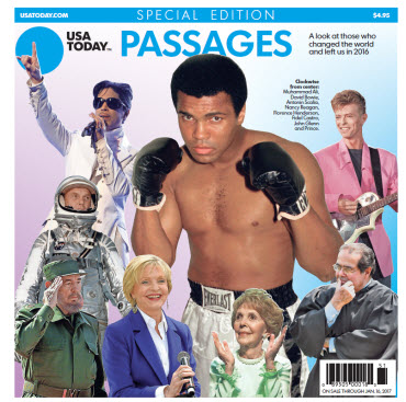 USA TODAY - Passages 2016