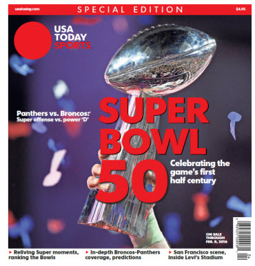 USA TODAY Sports 2016 Super Bowl Special Edition