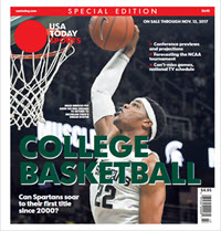 College Basketball - 2017 Special Edition - Michigan State Cover
