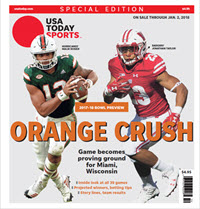 2017 College Bowl Guide Special Edition - Orange Bowl Cover