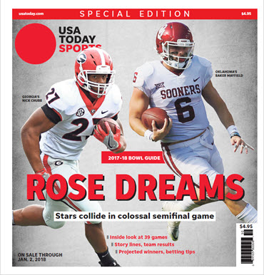2017 College Bowl Guide Special Edition - Rose Bowl Cover