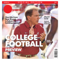 College Football Preview 2017 Special Edition - Alabama Cover