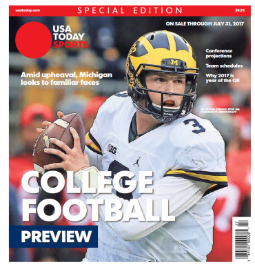 College Football Preview 2017 Special Edition - Michigan Cover