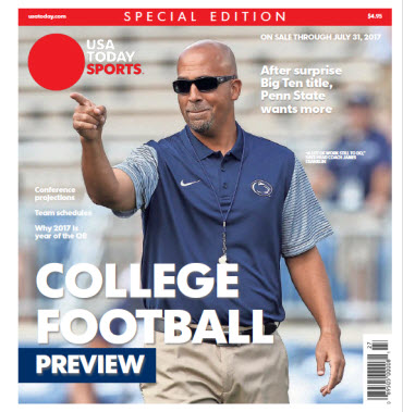 College Football Preview 2017 Special Edition - Penn State Cover