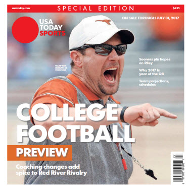 College Football Preview 2017 Special Edition - Texas Cover