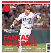 Fantasy Baseball 2017 Special Edition - Mike Trout Cover