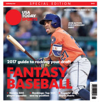 Fantasy Baseball 2017 Special Edition - Jose Altuve Cover