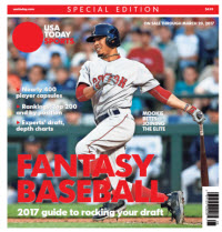 Fantasy Baseball 2017 Special Edition - Mookie Betts Cover