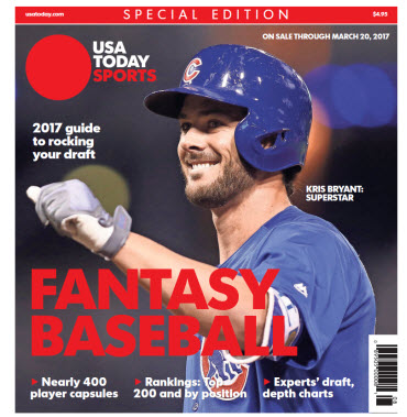 Fantasy Baseball 2017 Special Edition - Kris Bryant Cover