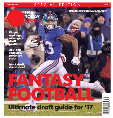 USA TODAY 2017 Fantasy Football Guide Special Edition - Giants Cover