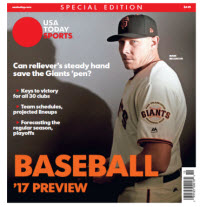 Baseball 2017 Preview Special Edition - San Francisco Giants Cover