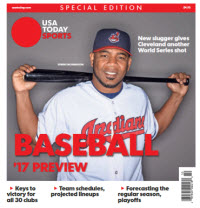 Baseball 2017 Preview Special Edition - Cleveland Indians Cover