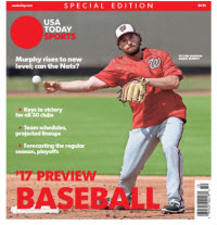 Baseball 2017 Preview Special Edition - Washington Nationals Cover