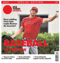 Baseball 2017 Preview Special Edition - Boston Red Sox Cover