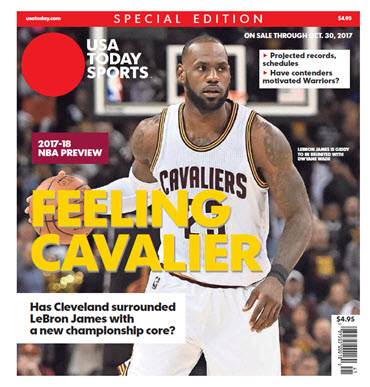 NBA Preview 2017-18 - Special Edition - Lebron James Cover