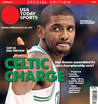 NBA Preview 2017-18 - Special Edition - Kyrie Irving Cover
