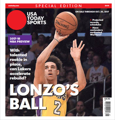 NBA Preview 2017-18 - Special Edition - Lonzo Ball Cover