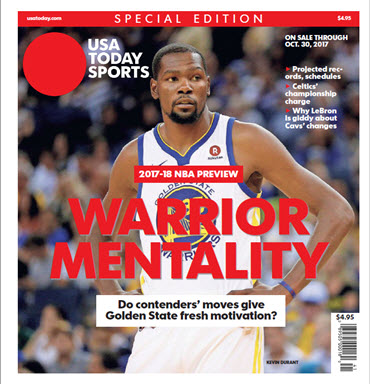 NBA Preview 2017-18 - Special Edition - Kevin Durant Cover