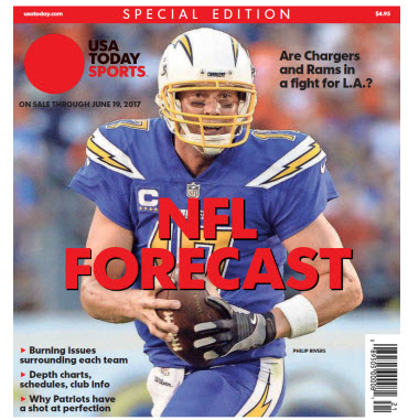 USA TODAY Sports Special Edition - NFL Forecast  2017 - Chargers Cover