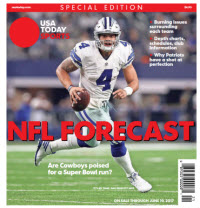 USA TODAY Sports Special Edition - NFL Forecast  2017 - Cowboys Cover