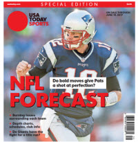 USA TODAY Sports Special Edition - NFL Forecast  2017 - Patriots Cover