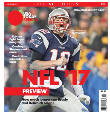 2017 NFL Preview Special Edition - Patriots Cover