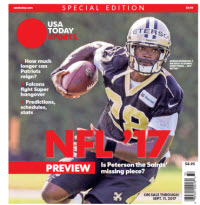 2017 NFL Preview Special Edition - Saints Cover