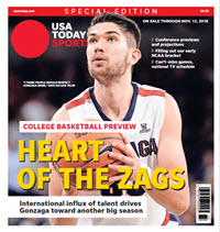 College Basketball Preview - 2018 Special Edition - Gonzaga Cover