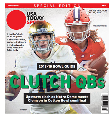2018 College Bowl Guide Special Edition - Cotton Bowl Cover MAIN