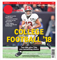 College Football 18 Special Edition - Alabama Cover