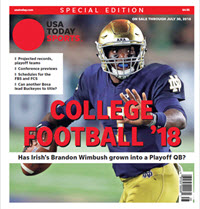 College Football 18 Special Edition - Notre Dame Cover