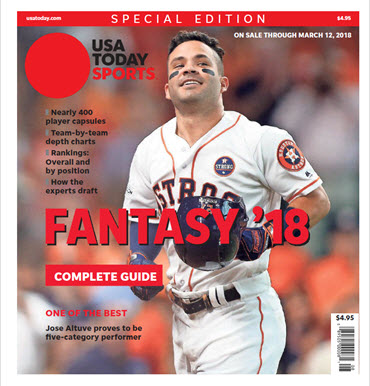 Fantasy Baseball 2018 Special Edition - Jose Altuve Cover