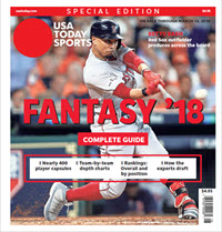 Fantasy Baseball 2018 Special Edition - Mookie Betts Cover