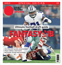 USA TODAY 2018 Fantasy Football Guide Special Edition - Cowboys Cover