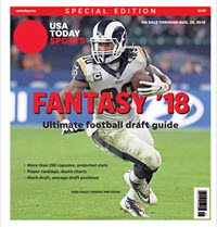 USA TODAY 2018 Fantasy Football Guide Special Edition - Rams Cover