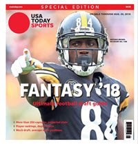 USA TODAY 2018 Fantasy Football Guide Special Edition - Steelers Cover