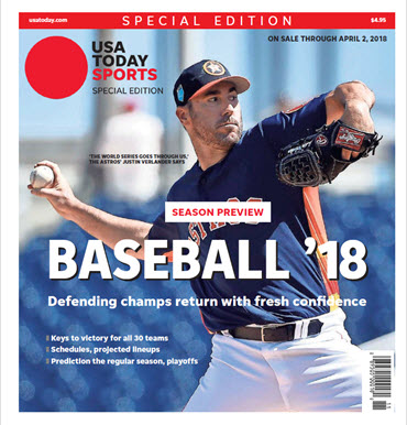 Baseball 2018 Preview Special Edition - Houston Astros Cover