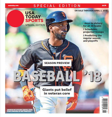 Baseball 2018 Preview Special Edition - San Francisco Giants Cover