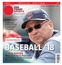 Baseball 2018 Preview Special Edition - Cleveland Indians Cover