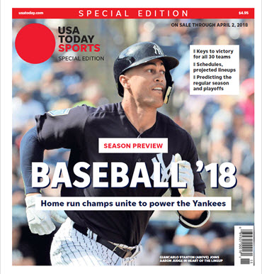 Baseball 2018 Preview Special Edition - New York Yankees Cover