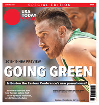 NBA Preview 2018-19 - Special Edition - Celtics Cover