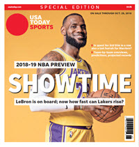 NBA Preview 2018-19 - Special Edition - Lakers Cover