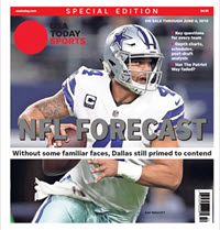 USA TODAY Sports  Special Edition - NFL Forecast  2018 - Cowboys Cover
