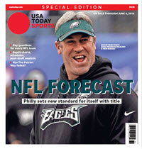 USA TODAY Sports  Special Edition - NFL Forecast  2018 - Eagles Cover
